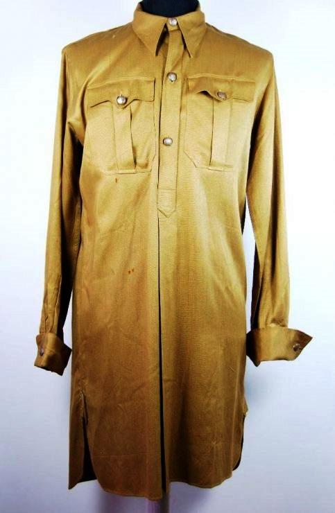 HJ, Camisa de 1938 con sello RZM